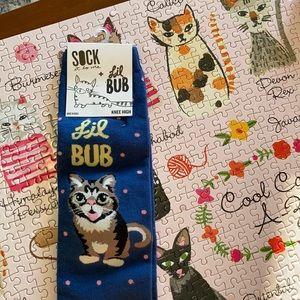 Lil bub knee socks!